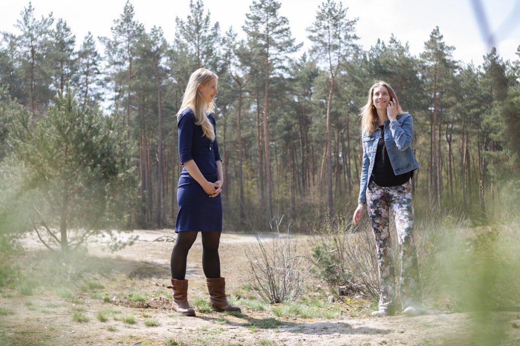 Wandelcoaching reflectie op boom